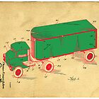 Tonka Truck Patent by Edward Fielding