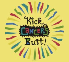 Kick Cancer's Butt  Kids Clothes