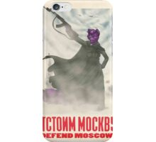 Defend Moscow! iPhone Case/Skin