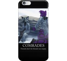 Comrades iPhone Case/Skin