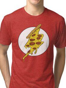The Flash - Pizza Tri-blend T-Shirt