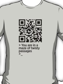 You are in a maze of twisty passages... T-Shirt