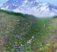 Alpine Meadow by farorenightclaw