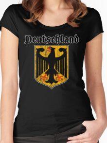 Deutschland Women's Fitted Scoop T-Shirt