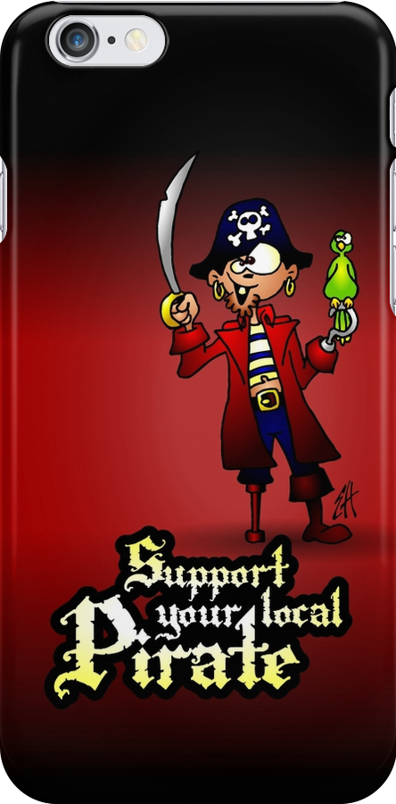 Support your local Pirate by cardvibes