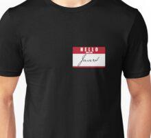 HELLO and I am Javert Unisex T-Shirt