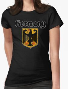 Germany Womens Fitted T-Shirt