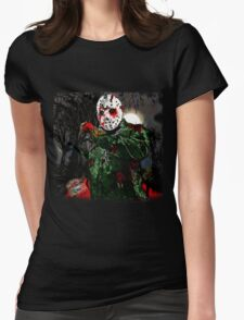 Jason Vorhees- camp crystal lake Womens Fitted T-Shirt