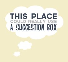 BIG BANG THEORY: Suggestion Box by iElkie