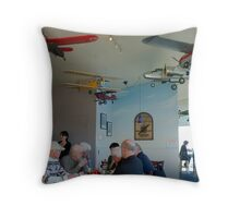 Old Timers Throw Pillow