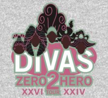DIVAS - Zero 2 Hero Tour One Piece - Short Sleeve
