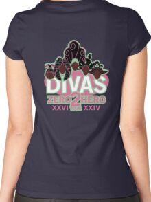 DIVAS - Zero 2 Hero Tour Women's Fitted Scoop T-Shirt