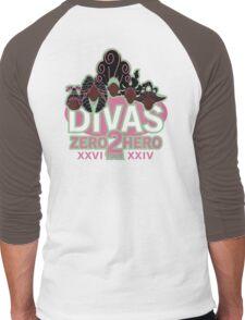 DIVAS - Zero 2 Hero Tour Men's Baseball ¾ T-Shirt