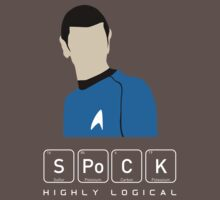 Highly Logical Spock by sebisghosts
