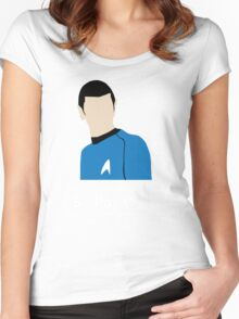 Highly Logical Spock Women's Fitted Scoop T-Shirt