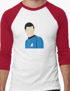 Highly Logical Spock Men's Baseball ¾ T-Shirt