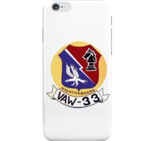 VAW-33 Nighthawkers (Firebirds) iPhone Case/Skin