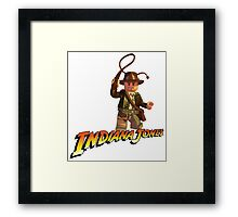 Indiana Jones - Lego version Framed Print