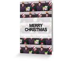 Merry Christmas Phan Card Greeting Card