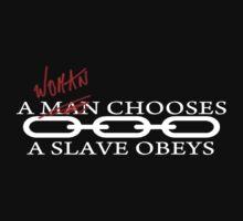 A woman chooses a slave obeys by tapirink