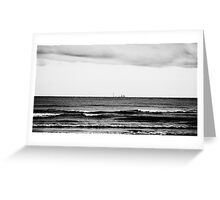 Distant Skyline Greeting Card