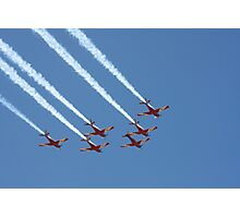 2013 Clipsal 500 Day 4 - RAAF Roulettes Photographic Print