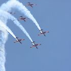 2013 Clipsal 500 Day 4 - RAAF Roulettes by Stuart Daddow Photography