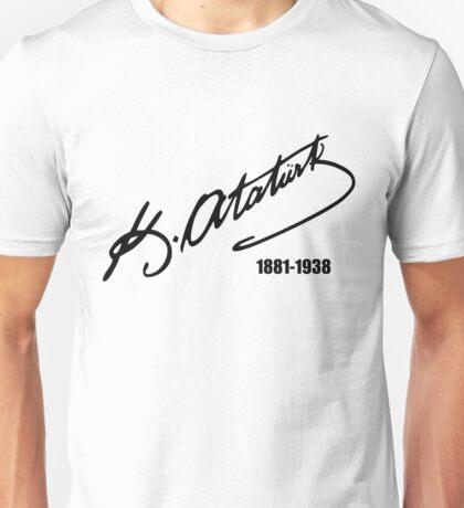 Mustafa Kemal Ataturk Unisex T-Shirt