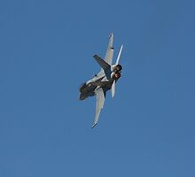 2013 Clipsal 500 Day 4 - RAAF F/A-18 by Stuart Daddow Photography