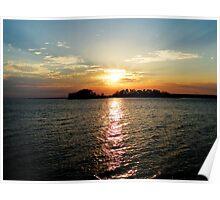 Lake Colors Poster