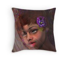 Promise of Spring, by Alma Lee Throw Pillow