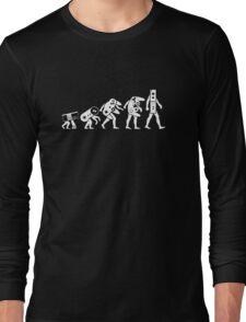The Evolution of Nintendo Long Sleeve T-Shirt