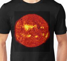 Venus in Transit Across the Sun - Red Unisex T-Shirt