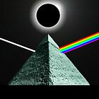 Echo's of prism's & the dark side of the Moon by Chris-Cox