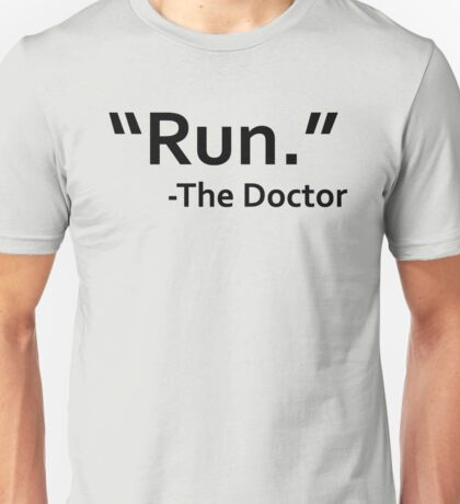 dr who quote Unisex T-Shirt