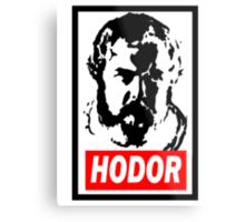 Obey Hordor Metal Print