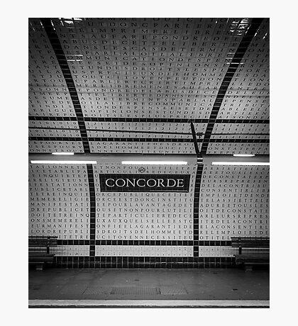 Paris Signature Series Metro 3/15 Photographic Print