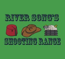 Dr. Who River Song's shooting range Baby Tee