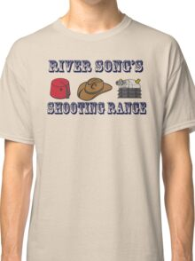 Dr. Who River Song's shooting range Classic T-Shirt