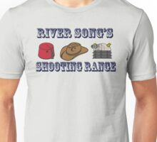 Dr. Who River Song's shooting range Unisex T-Shirt