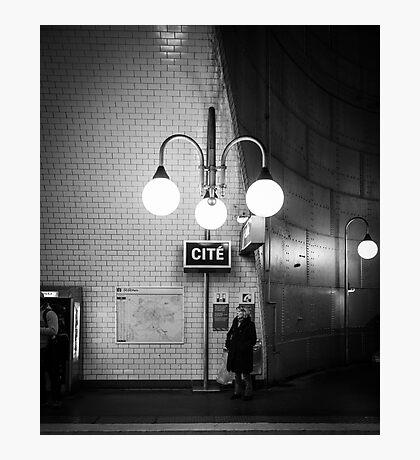 Paris Signature Series Metro 6/15 Photographic Print