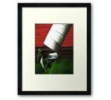 Uncurled  Framed Print