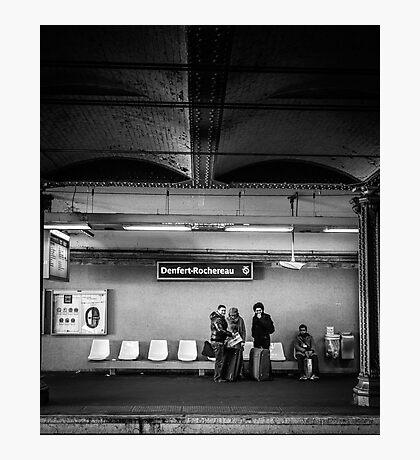 Paris Signature Series Metro 14/15 Photographic Print