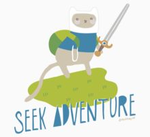 """Seek Adventure"" Kitty Kids Clothes"