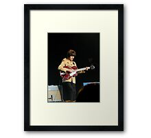 Jimmy or George? Framed Print