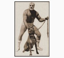 Angel Blanco, Classic Mexican Wrestler by Gregory Dyer