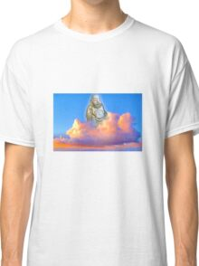 Buddha in the clouds Classic T-Shirt