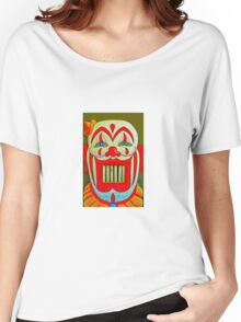 Clowny Teeth Women's Relaxed Fit T-Shirt