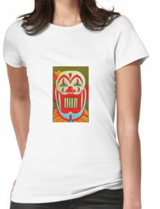 Clowny Teeth Womens Fitted T-Shirt