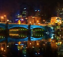 Reflective City      (GO2) by Ray Warren